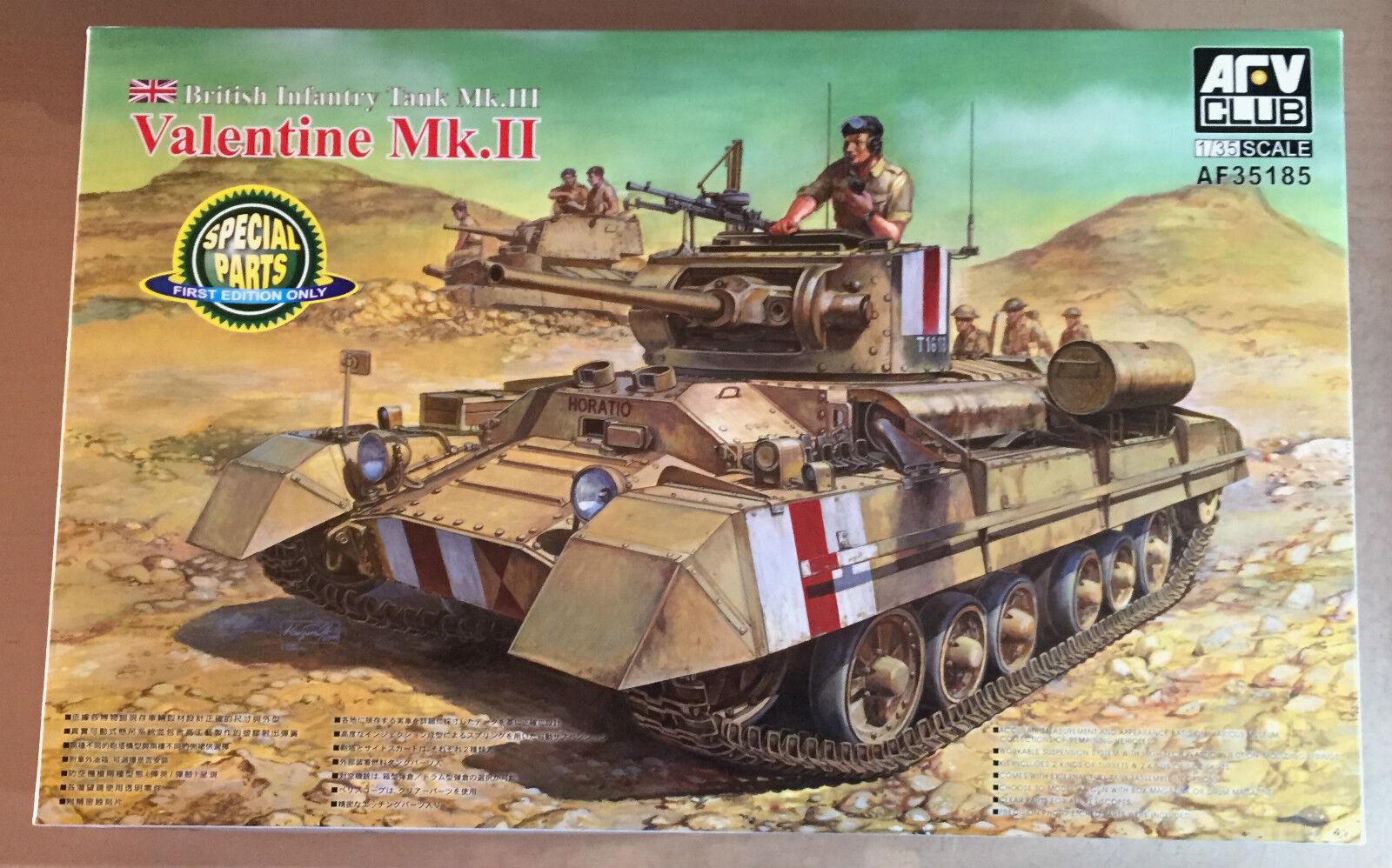 AFV Club af35185 - 1 35 Valentine Mk. II British Infantry Tank Mk. III-NEW
