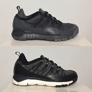 Nike Lupinek Flyknit Low Samples Dark Cool Grey / Black Sail SZ 10 [882685]