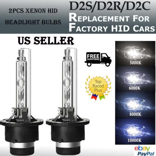 NEW 35W D2S D2R D2C Xenon Car Replacement For HID Headlight Light Lamp Bulbs HOT