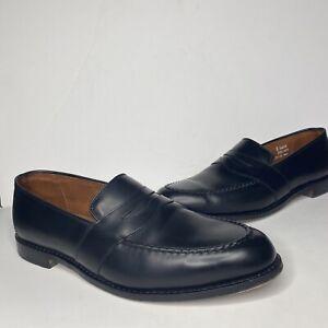 Randolph Black Penny Loafers Slip