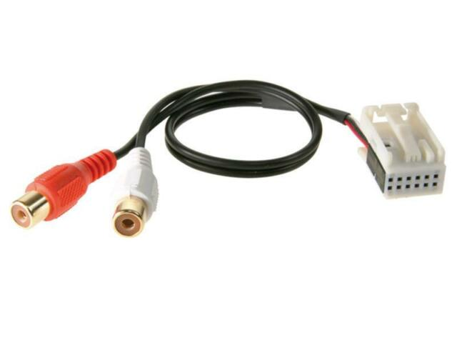 ACV 1424-03 AUX-IN Ton Interface Adapter Audio 20 50 Mercedes Comand APS NTG 2