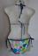 Damen Triangel Bikini Blau oder Braun gemustert Gr 34 36 38 40 42 44 NEU