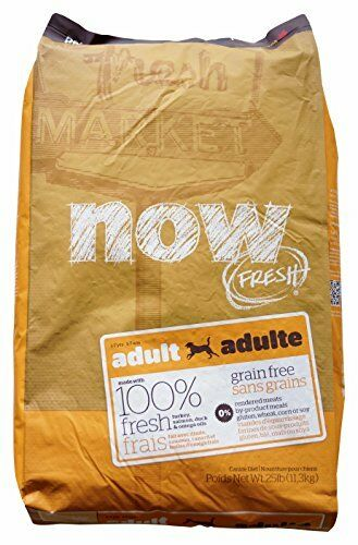 NOW  152344 Fresh Grain Free Adult Dog Food 25-Pound Bag