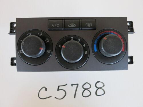 04 05 06 ELANTRA CLIMATE CONTROL PANEL TEMPERATURE UNIT A//C HEATER OEM C5788