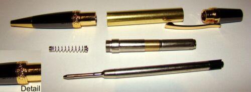 Kugelschreiber Sierra Elegant Beauty gold-gunmetal Bausatz Halbzeuge J139