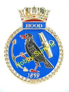 WWII-HMS-HOOD-Royal-Navy-Battle-Cruiser-1-200-1-350-1-700-Model-Display-Badge