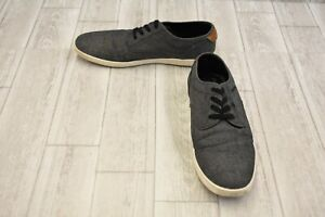 d8db7b8ca25 Details about Steve Madden Fenta Casual Sneakers - Men's Size 13M - Black  Fabric