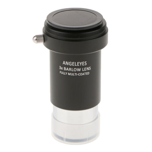 "Barlow Lens 5X 3X for Telescope Eyepiece Set 1.25/"" Fully Coated Purple Film"