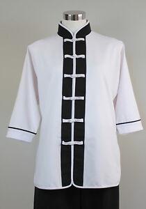 Casual Martial Arts Jacket Trim - Tai Chi Uniform, Kung Fu, Qigong - XL Size