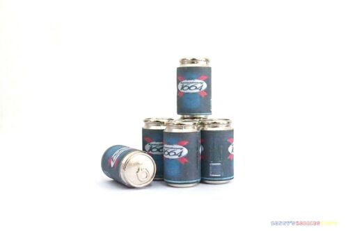 6PC 1//6 France Beer Cans 1664 French For Enterbay 12 Inch Action Figures