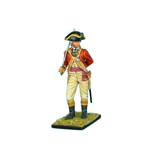 First Legion  AWI040 British 22nd Foot Officer