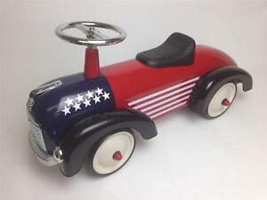 Scoot-A-Long-Ride-On-USA-Speedster-Car-034-CLOSE-OUT-SPECIAL-034