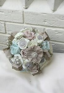 Image Is Loading Wedding Flowers Blush Pink Mint Green Ivory Roses