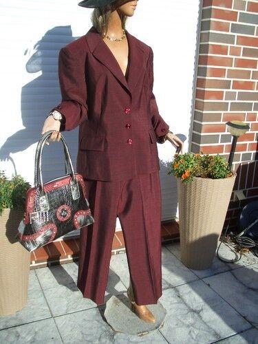 Lujo  Escada Couture X-mas elegante blazer 42 44 np1180, - burdeos frambuesa rojo mohair  autorización oficial
