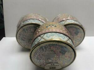 3-Punch-Studio-Laminated-Coasters-Keepsake-in-Box-Haiku-Blossoms-12-per-Set