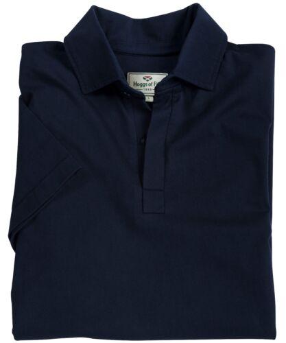 Hoggs Di Fife manica corta cotone Rugby Camicia-STONE