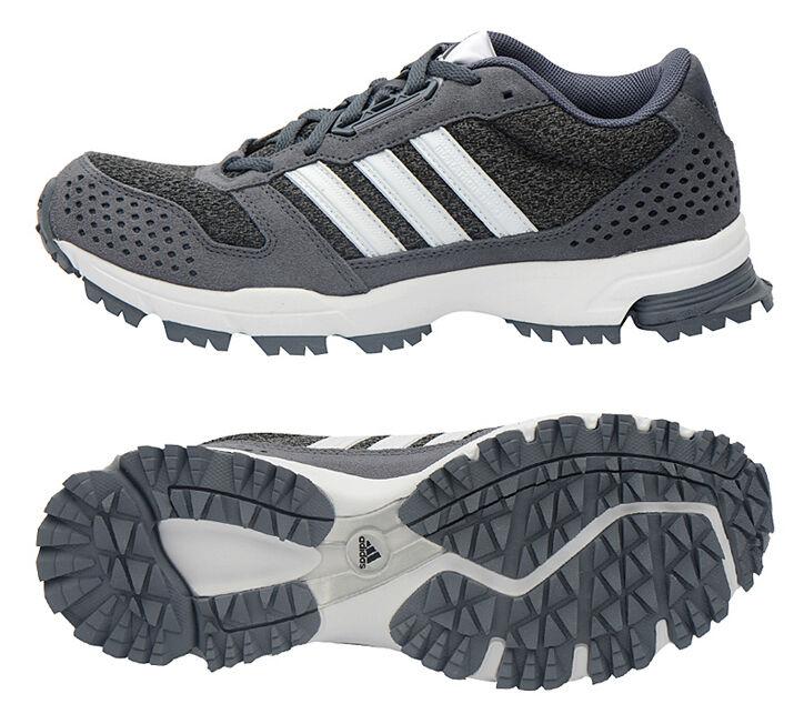 Adidas Marathon 10 Trail Running Shoes B54286 Outdoor Hiking Sports Boots Gray