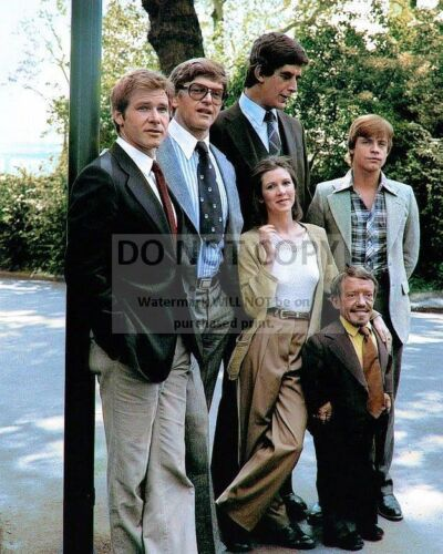 """MARK HAMILL /& CARRIE FISHER IN /""""STAR WARS/"""" HARRISON FORD EP-615 8X10 PHOTO"""