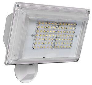 42 Watt Led Security Light With Photocell Sensor 4000k