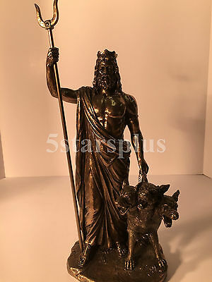 Hades - Greek God Of The Underworld Statue Sculpture figurine Greek Mythology