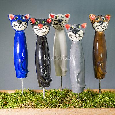 Analytisch Keramik Katze Ministecker In Verschiedenen Farben Spezieller Sommer Sale