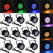 10pcs 86 RGB LED Stage Light Par DMX-512 Lighting Laser Projector Party Club DJ