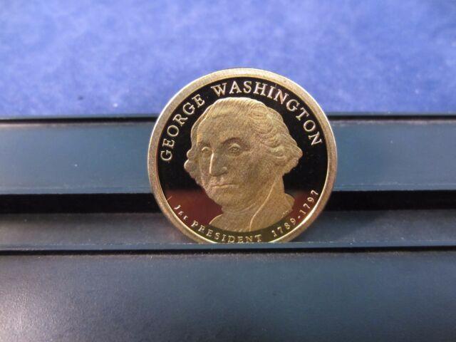 2010 S James Buchanan $1 Coin Deep Cameo Proof Upper Grading Ranges One Dollar
