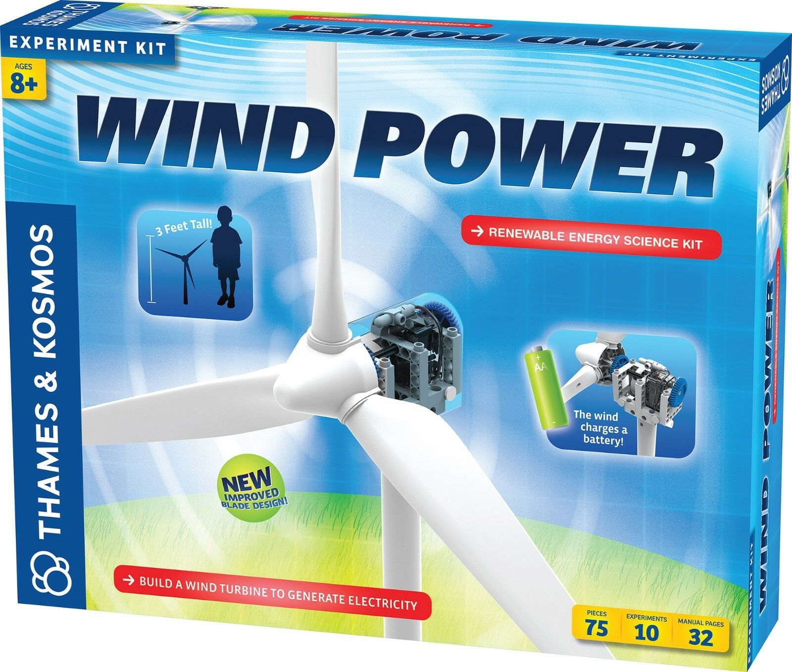 Thames and Kosmos Wind Power V3.0 Science Kit