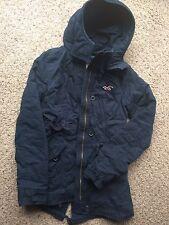 hollister Women's Jacket Coat Size XS Hoodie Navy