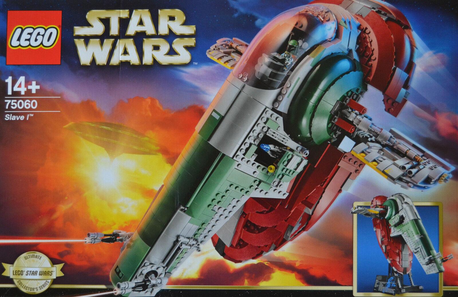 Lego Star Wars Nave Espacial 75060 Esclavo 1 Incl. Allen Figuras Raro RAR Nuevo