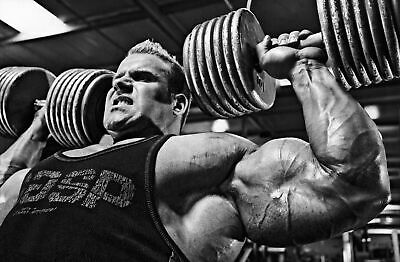 Jay Cutler Bodybuilding Muscles Gym Giant Wall Art Poster Print