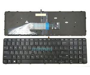 HP Probook 450 G4 455 G4 470 G4 Keyboard US Backlit with Pointer 831023-001