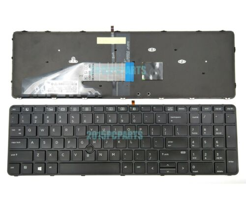 New HP Probook 450 G3 455 G3 470 G3 Keyboard US Backlit with Pointer 831023-001