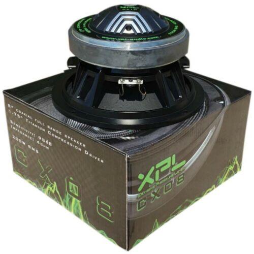 XPL CX08 CX 08 altoparlante coassiale da 20,00 400 watt max 98 db 4 ohm car spl