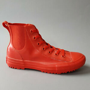 Details zu Converse Chuck Taylor All Star Chucks Chelsea Boot Rubber Hi Signal Red 553265C