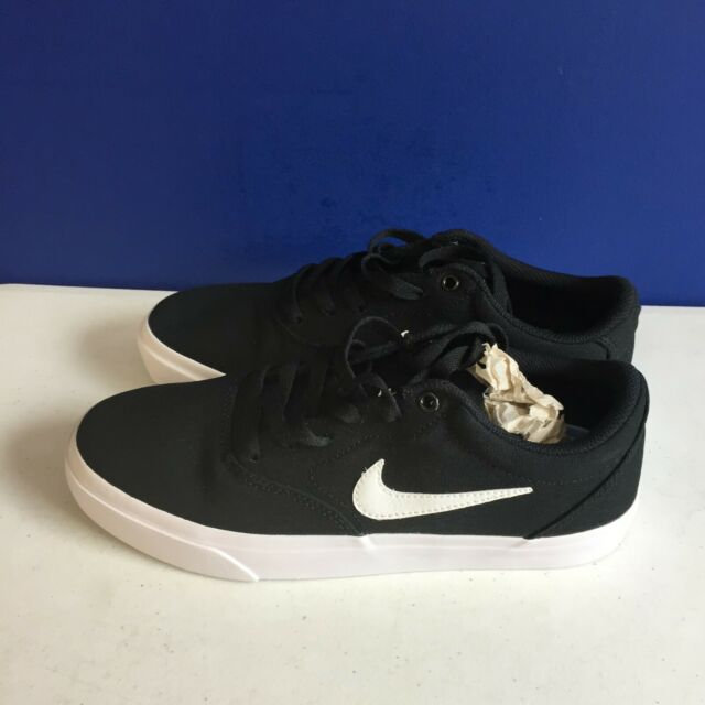 Size 8 - Nike SB Charge Canvas Black for sale online   eBay