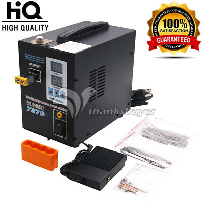 737G Spot Welder 1.5KW LED Welding Machine NO Pen for 18650 battery 110V//220V