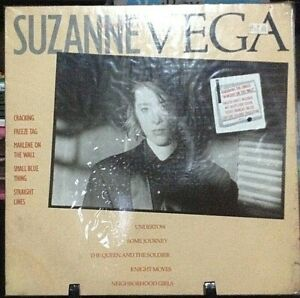 SUZANNE-VEGA-Self-Titled-Album-Released-1985-Vinyl-Record-Collection-German-pres