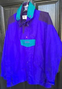 Zippers Cords Reputation First Reasonable Columbia Mn Jacket Sz Large Nylon Purple/aqua With Hood Pockets Activewear Clothing, Shoes & Accessories