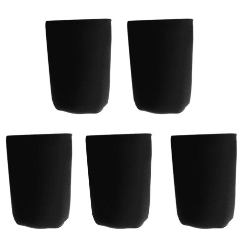 5x Neopren Dosen Kühltasche Dosenkühler Beutel Getränkekühler Hülle