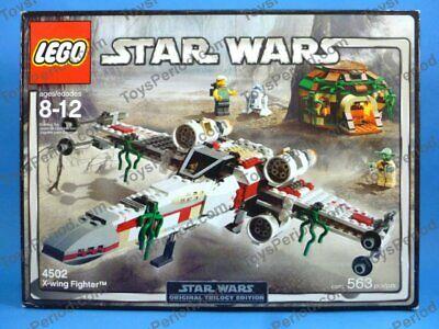 LEGO 4502 X-Wing Fighter Classic Star Wars Dagobah Yoda New | eBay