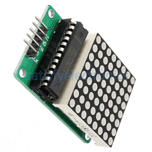 1PCS MAX7219 Dot led matrix Module MCU control LED Display modules for Arduino