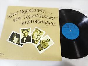 "Tito Rodriguez 25TH Anniversary Performance - LP 12 "" Vinyl VG/VG Venezuela Edit"