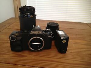 Canon-Camera-35MM-T50-WITH-SIGMA-amp-KIRON-ZOOM-LENSE-CARRYING-CASE-EXTRAS