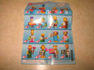 New-Lego-71009-Simpsons-Series-2-Minifigure-PICK-YOUR-MINIFIGURES-READ