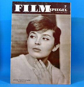 DDR-Filmspiegel-7-1961-Hanjo-Hasse-Herwart-Grosse-DEFA-Filmtiere-Flavia-Buref