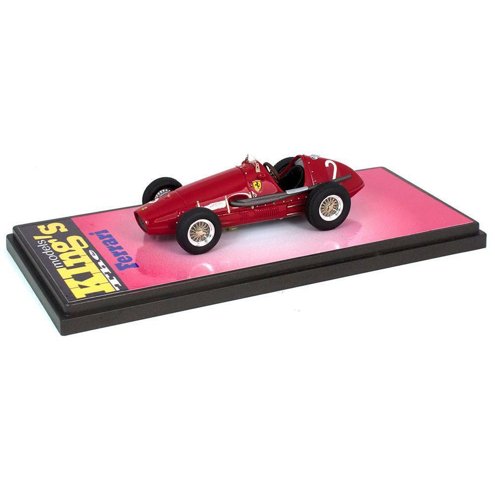mas preferencial Kings Modelos 1 43 1953 Ferrari 500 F2 Giuseppe Giuseppe Giuseppe Farina  2 Syracuse GP  80% de descuento