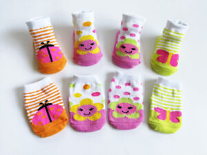 4-Pairs-New-Born-Girl-Infant-Baby-Socks-0-6-Month-Cute-Flower-Butterfly-Ladybug