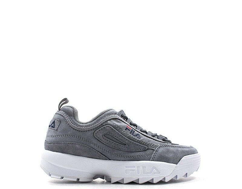 zapatos FILA FILA FILA mujer zapatillas  gris Scamosciato 1010436-6QW  ordene ahora los precios más bajos
