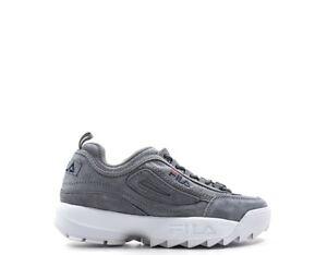 Dettagli su Scarpe FILA Donna Sneakers GRIGIO Scamosciato 1010436-6QW